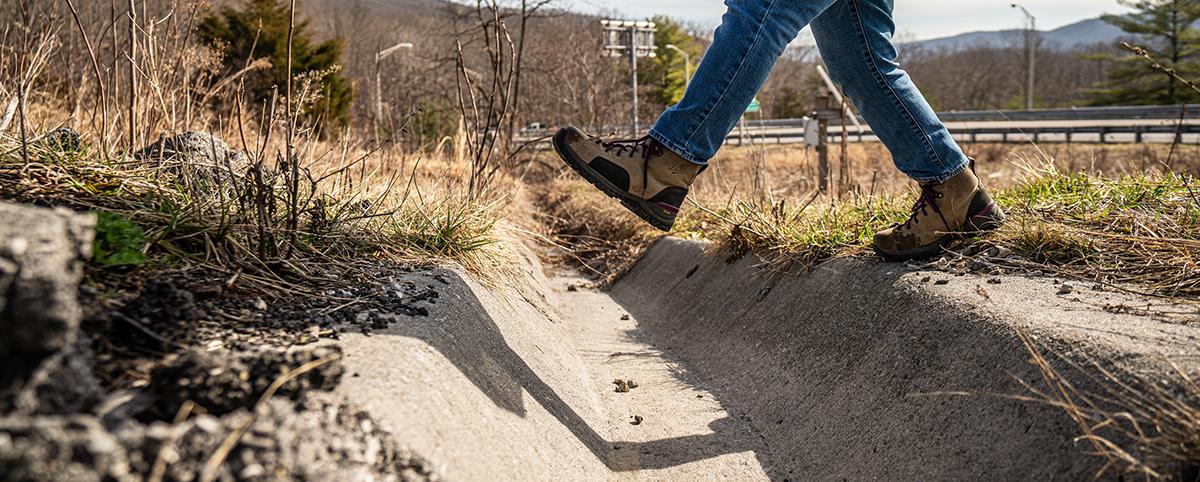 Roadway drainage asset