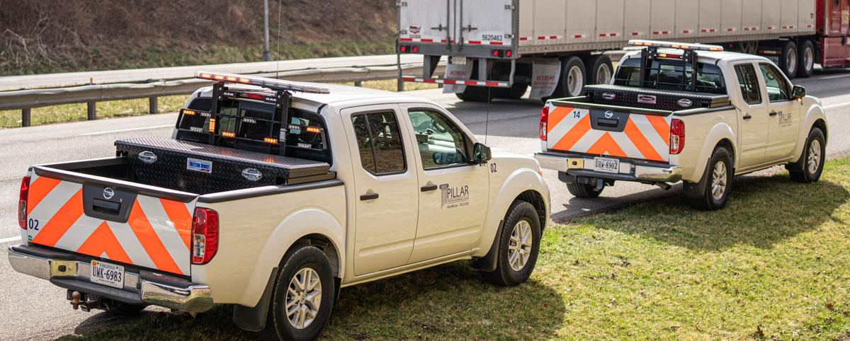 PILLAR Safety Work Trucks