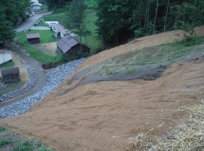 Elk Creek Landslide Stabilization