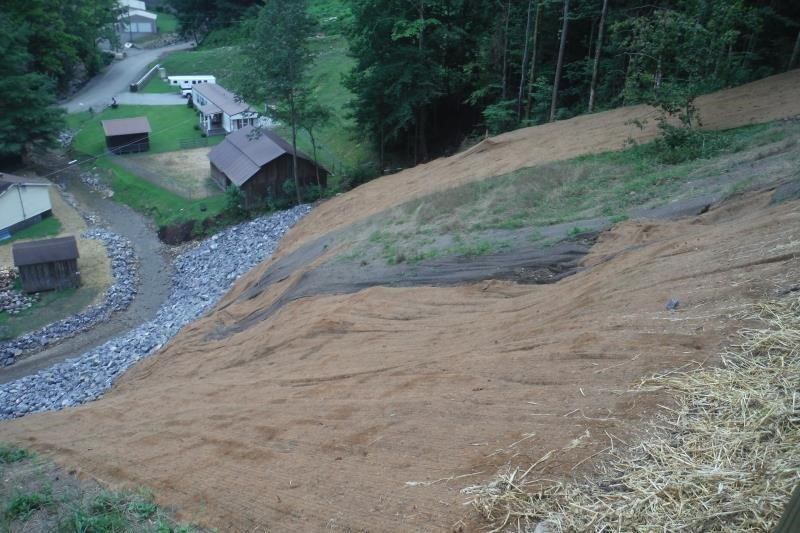 Elk Creek Landslide Stabilization