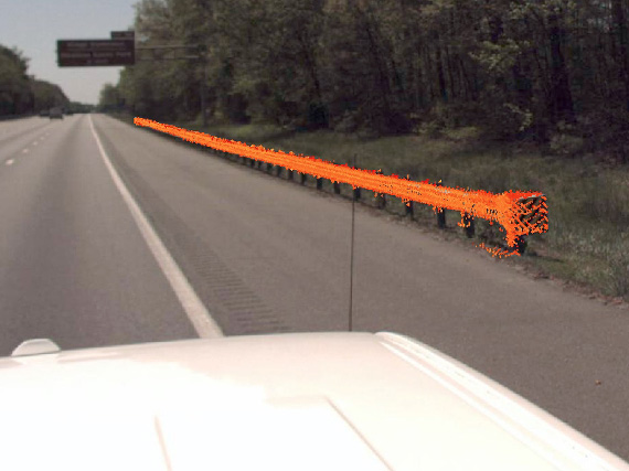 VDOT District 4 Guardrail Scan