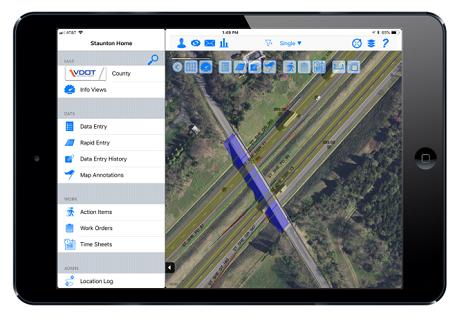 iPad showing screenshot