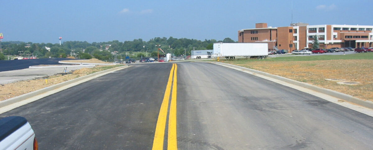 Newly Resurfaced Road