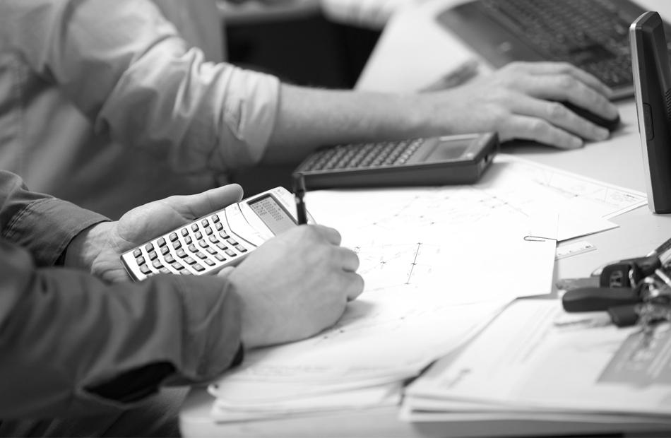 PILLAR Employees Calculating Budget