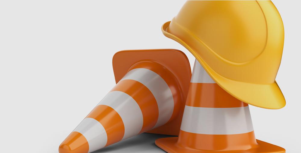 Cones & Construction Hat