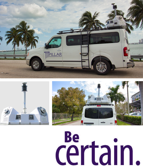 Collage of Mobile LiDAR in Various Situations