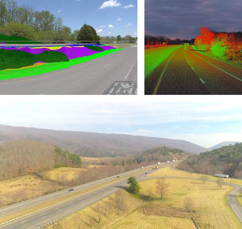 Spherical LiDAR Imaging Collage